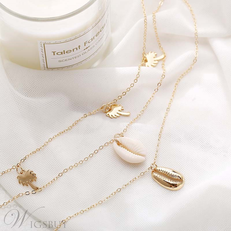 Multilayer Alloy Necklace For Women