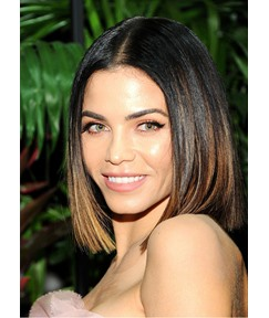 Bob Style Women's Straight Human Hair Wigs Lace Front Cap Wigs 16inch