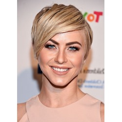 Natural Looking Pixie Cut Womens Straight Synthetic Hair Lace Front Wigs 10inch