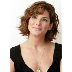 Anti-Aging Short Hairstyles Wavy Bob For Older Women 12 Inches