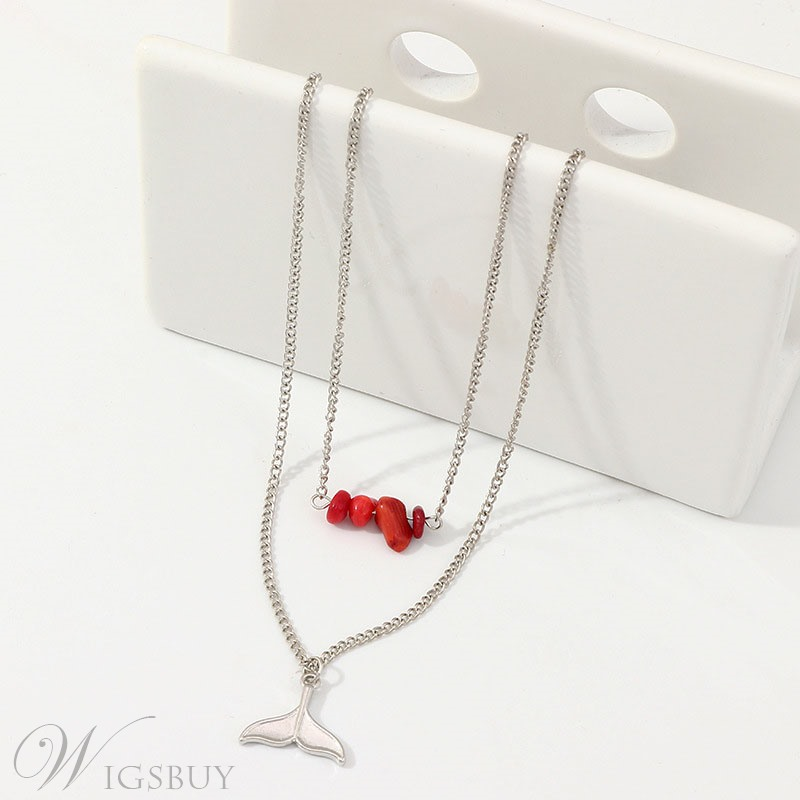 Beads Fishtail Necklace