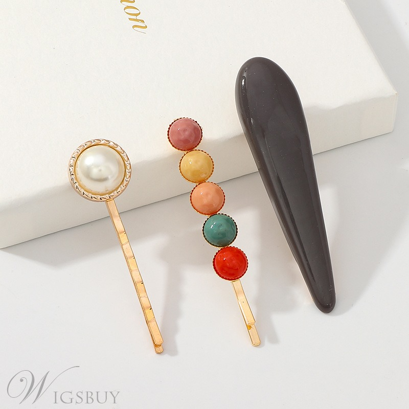 Colourful Beads Hairpin Hair Accessories