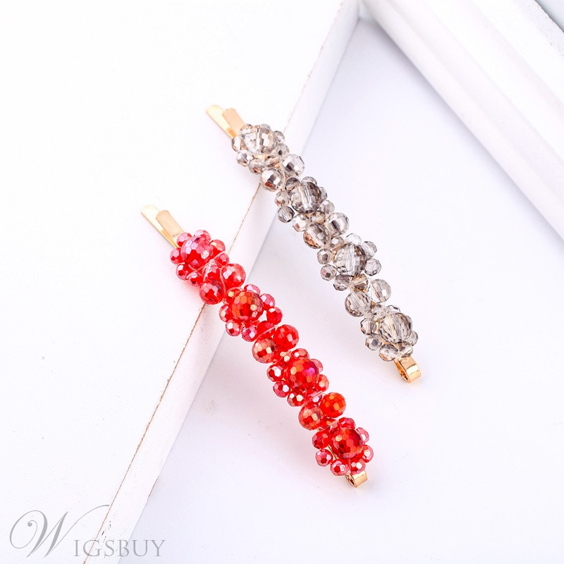 Rhinestone Hairpin Hair Accessories