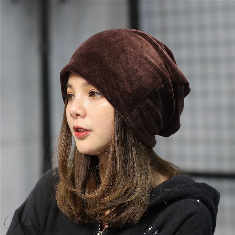 2019 New Style Fashion Autumn Velvet Cap