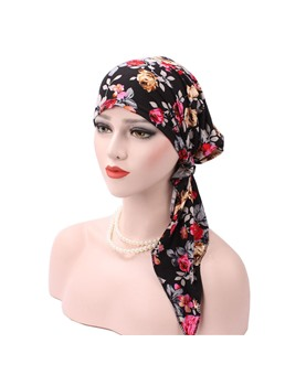 Fashion New Style Floral Turban For Women