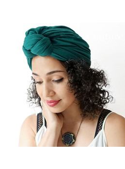 turban mode tricot simple pour femme