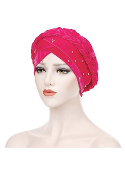 Velvet Bun Turban For Women