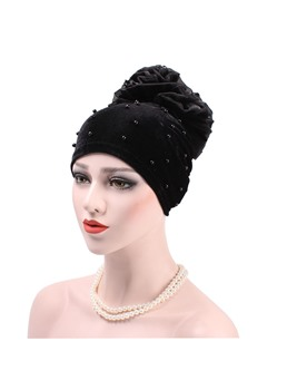 Colour Flower Turban For Women