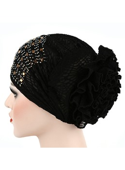 Lace Flower Turban For Women
