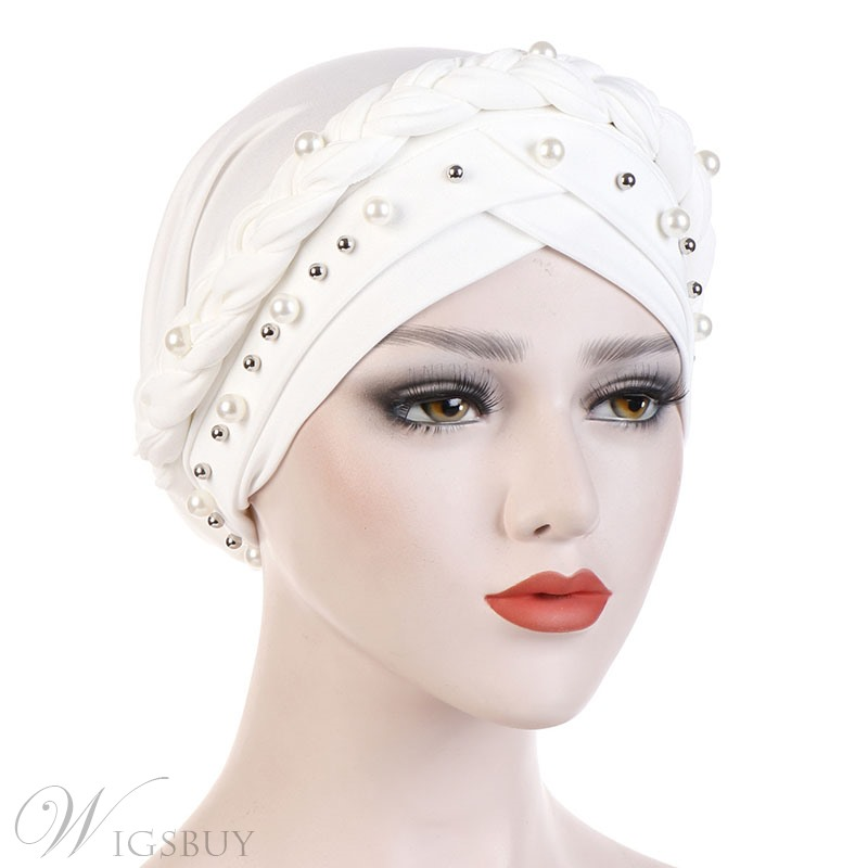 Colour Beads Turban For Women