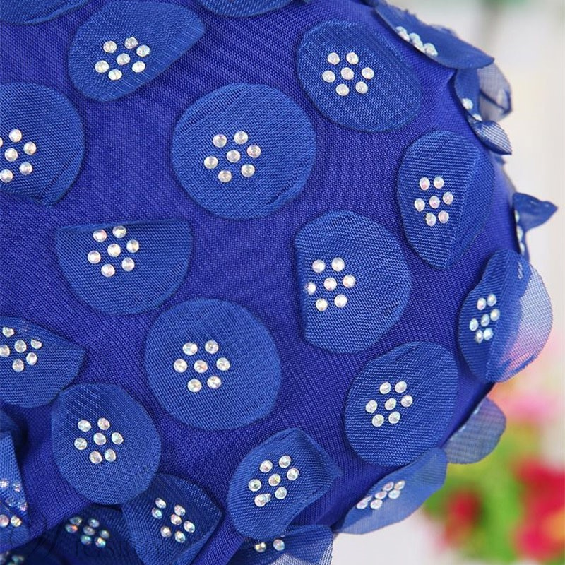 Simple Flower Beads Turban For Women