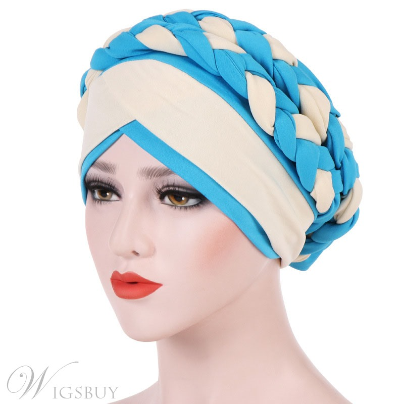 Pure Colour Knit Fashion Turban For Women