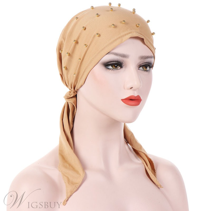 Fashion Beads Turban For Women