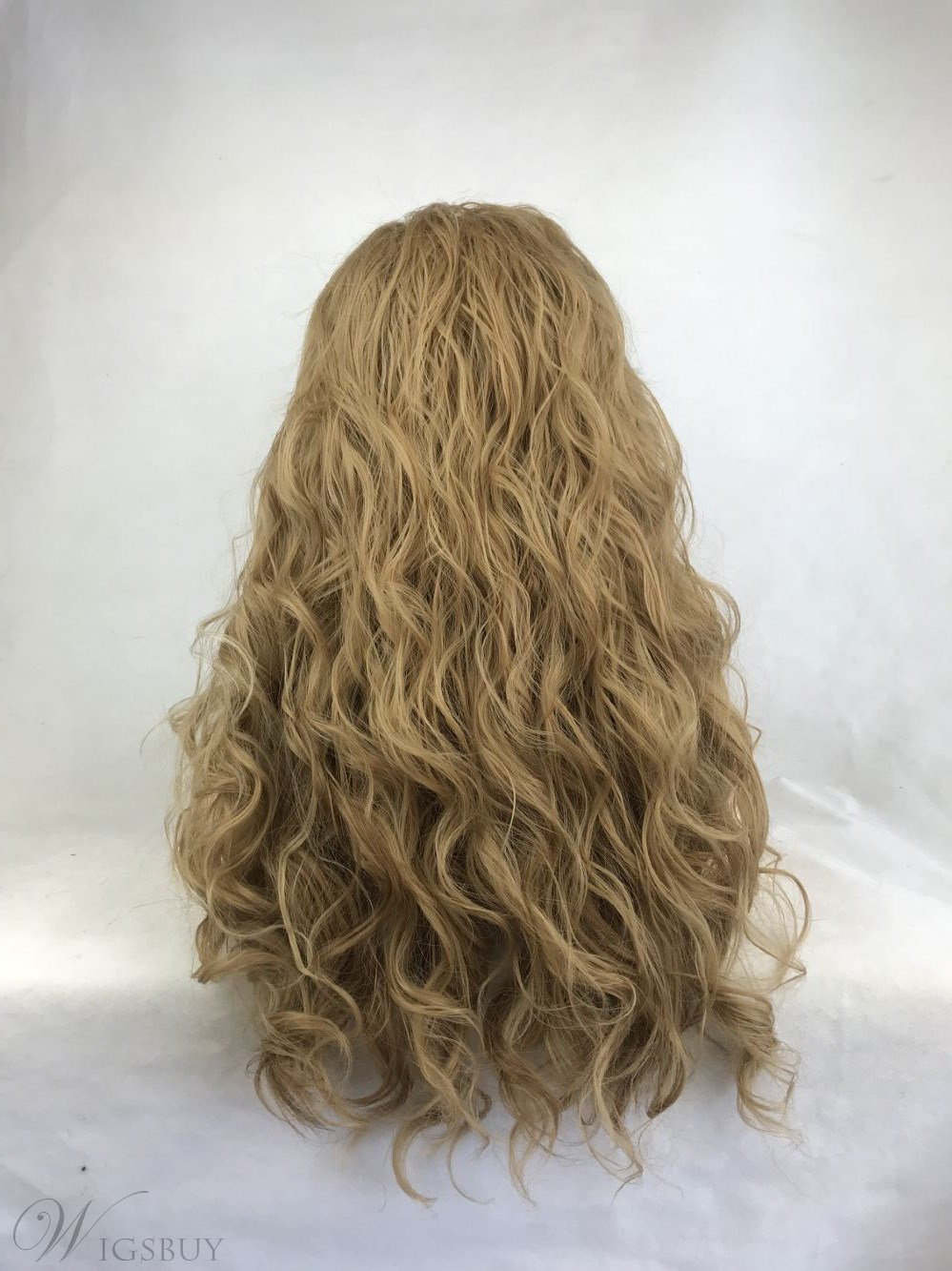 Long Curly Side Part Synthetic Hair Lace Front Wig 28 Inches
