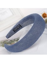 Satin Hair Band Variegated Color Hair Accessories