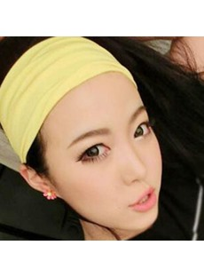 Elastic Hair Band Pure Color Hair Accessories