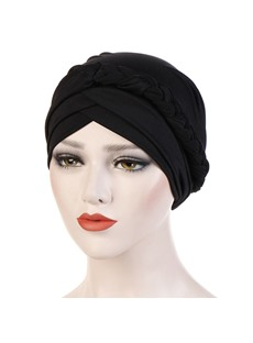 Pure Color Twist Women Turban