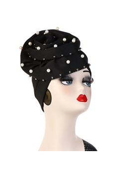 Zephyr Arab Pearl Turban For Women