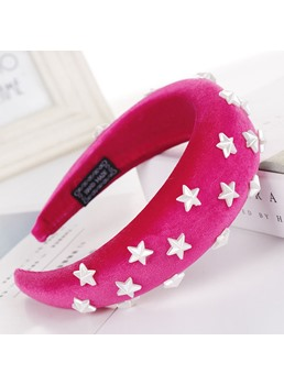 Sponge Ring Hair Band Star Hair Accessories