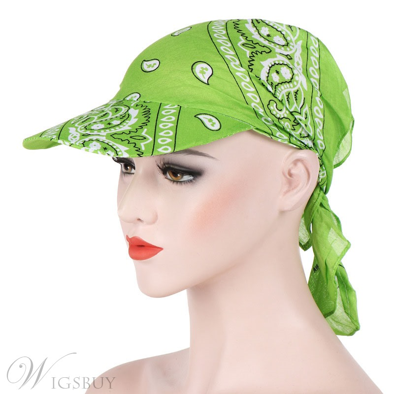 Printing Simple Turban Hat For Women