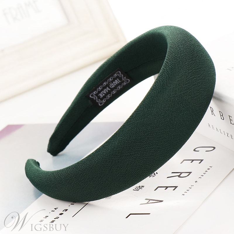 Sponge Ring Hair Band Candy Color Hair Accessories