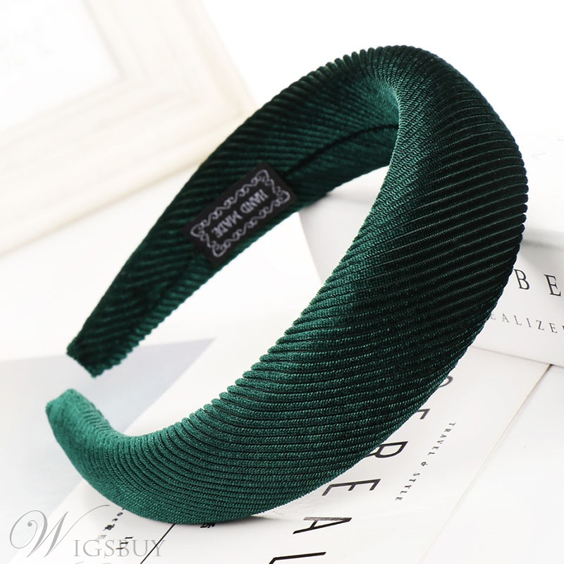 Sponge Ring Hair Band Pure Color Hair Accessories