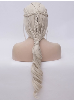Game of Thrones Hairstyle Long Braid Synthetic Hair Cosplay Wig