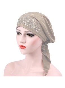 Fashion Rhinestone Shining Turban For Women