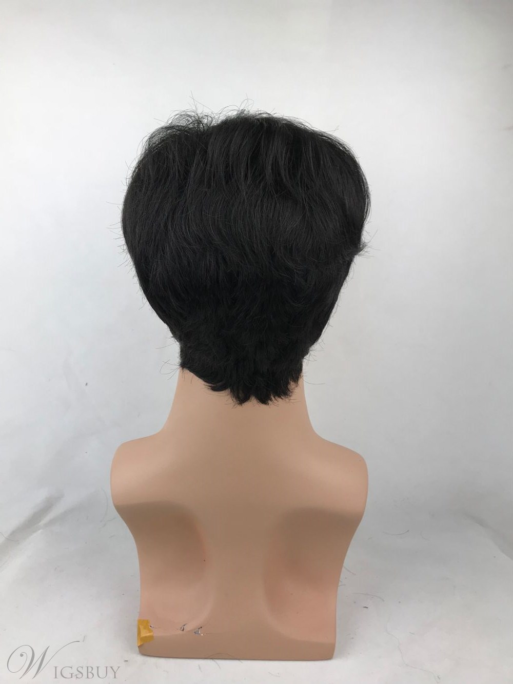 Short Hairtstyle Synthetic Hair Straight Men's Wig