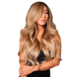 Full Head Womens Blonde Color Long Length Body Wave 100% Human Hair Lace Front Wigs 26Inch