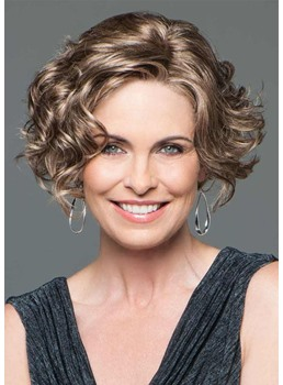Short Hairstyles For Curly Hair And Fat Face Wigsbuy Com