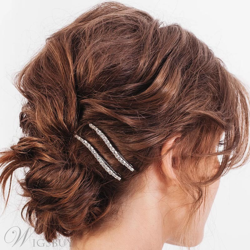 Sweet Style Women/Ladies Alloy Diamante Technic HairPin Hair Accessories