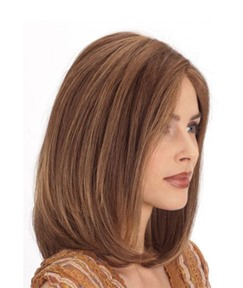 Short Bob Hairstyles Middle Part Women's Straight Synthetic Hair Wigs Breathable Elastic Capless Wigs 14Inch
