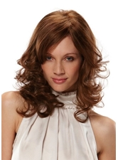 Comfort Versatility Women's Layered 100% Human Hair Wigs For Diamond Heart Oblong Oval, Round Face Lace Front Wigs 14Inch