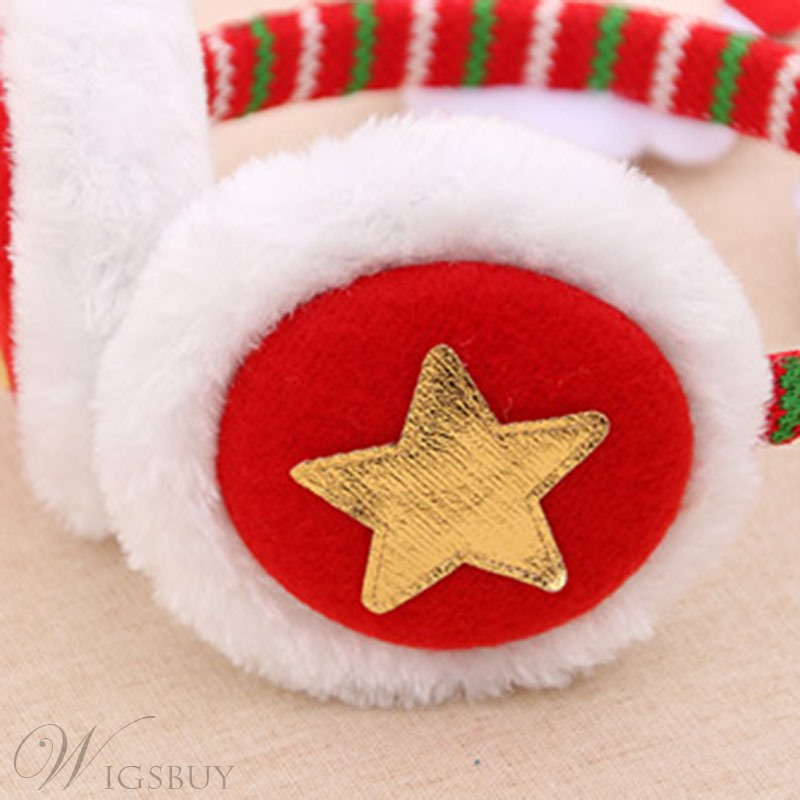 Christmas Headband Headsets Adult Children Dress Up Christmas Red Big Antler Head Buckle Hairpin Gift Earmuffs