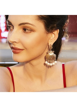 Lady/Women's Sweet Style Alloy E-Plating Technic Drop Earrings For Prom/Anniversary/Wedding/Party/Birthday/Gift/Holiday