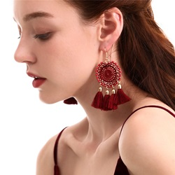Bohemian Style Womens Hollow Out Technic Alloy Drop Earrings For Prom Anniversary Wedding Party Birthday Gift Holiday Bohemian Style Womens Hollow Out Technic Alloy Drop Earrings For Prom Anniversary Wedding Party Birthday Gift Holiday