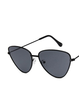 Fashion Women/Men's Unisex Resin Lens Metal Frame Wrap Sunglasses