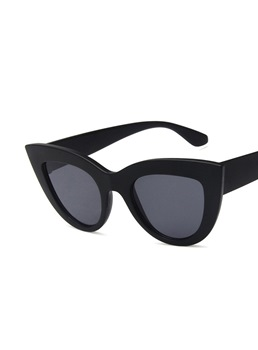 Adult Women/Men's Unisex Fashion Style Poly Carbonate Frame Resin Lens Cat Eye Shape Sunglasses