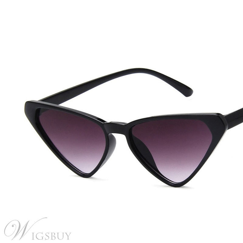 Unisex Men/Women's Adult Fashion Poly Carbonate Frame Resin Lens Cat Eye Sunglasses