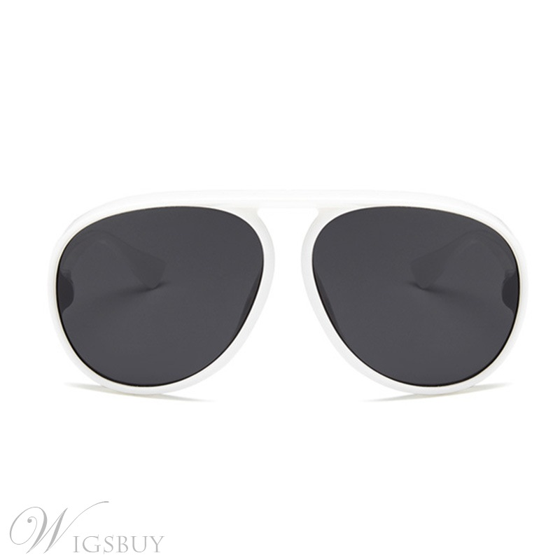 Women/Men's Adult Unisex Fashion Style Poly Carbonate Frame Resin Lens Wrap Shape Sunglasses 8 Colors