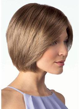 Women's Short Bob Hairstyles Natural Straight Human Hair Wigs Bob Style Lace Front Wigs 10Inch