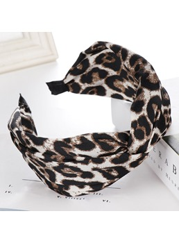 Leopard Print Female Turban