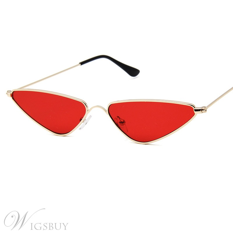 Women/Ladies Vintage Style Audlt Metal Frame Resin Lens Cat Eye Shape Lovly Sunglasses