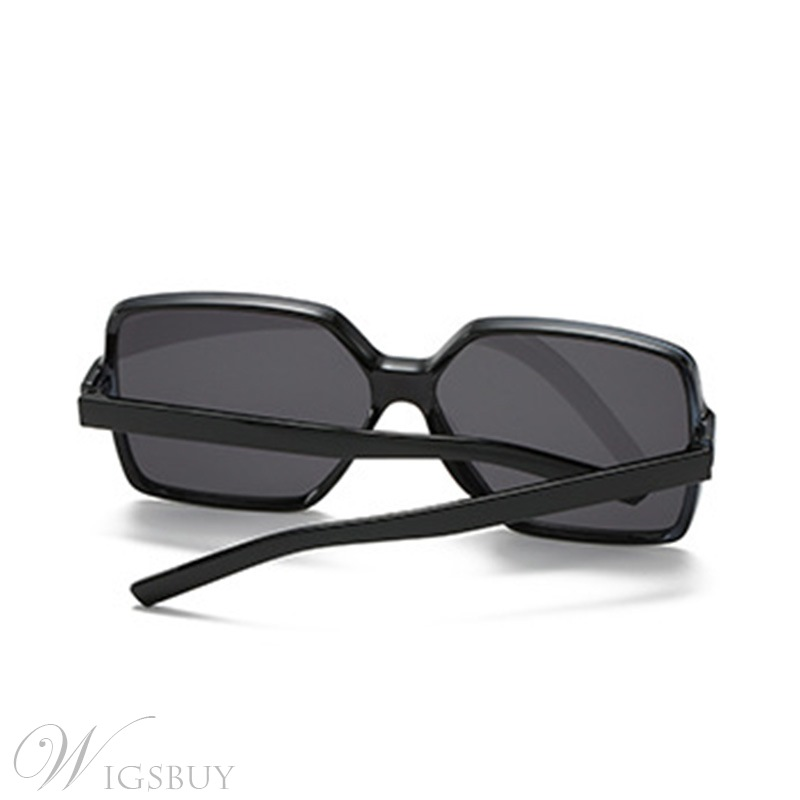Fashion Style Unisex Adult Women/Men's Resin Poly Carbonate Wrap Shape Sunglasses