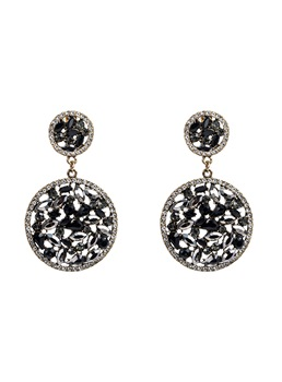 Wedding/Party Women/Ladies Romantic Style Adult Alloy Diamante Technic Drop Earrings