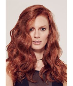 Fashion Women's Long Length Body Wave Hairstyles Synthetic Hair Wigs Capless Wigs 24Inch