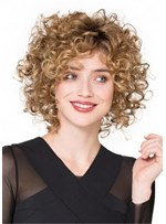 Women's Curly Incredible Synthetic Lace Front Wigs 10 Inches