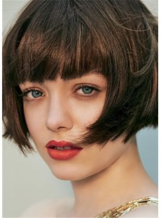 Gorgeous Hairstyle Short Bob Wigs Synthetic Hair Women Wig 10 Inches