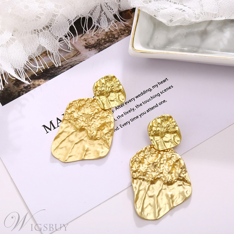 European Style Women's Alloy Material E-Plating Technic Drop Earrings For Wedding/Party